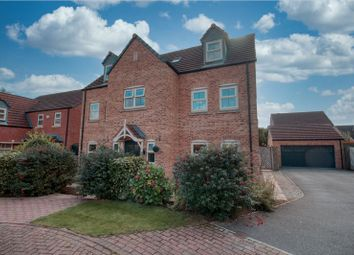 Thumbnail 5 bed detached house for sale in Summer Green Way, Crowle, Scunthorpe