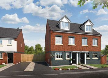 Thumbnail 3 bedroom semi-detached house for sale in Commercial Road, Hanley, Stoke-On-Trent