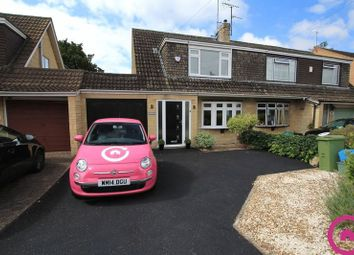 Thumbnail 3 bed semi-detached house to rent in Church Road, Swindon Village, Cheltenham