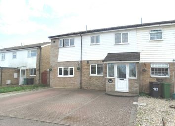 Thumbnail 3 bed semi-detached house for sale in Bridgemere Road, Eastbourne