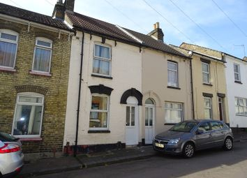 Thumbnail 3 bedroom terraced house for sale in Melbourne Road, Chatham, Kent.