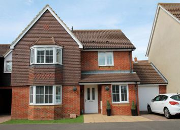 Thumbnail 4 bed link-detached house for sale in Campbell Road, Hawkinge, Folkestone