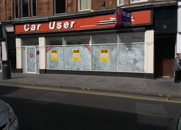 Thumbnail Retail premises to let in 86 High Street, Dumbarton