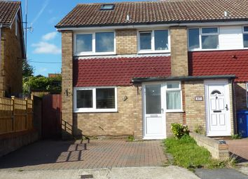 Thumbnail 4 bed semi-detached house to rent in Coombe Drive, Sittingbourne