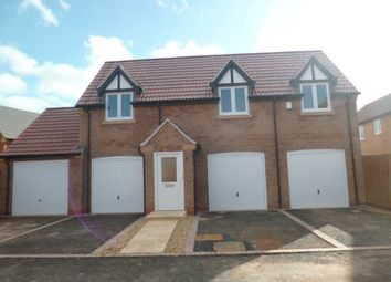 Thumbnail 2 bed detached house to rent in Allendale Road, Loughborough