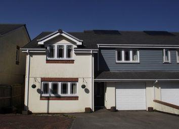 Thumbnail 3 bed semi-detached house to rent in Keston Gardens, Wadebridge