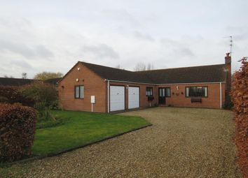 Thumbnail 3 bed detached bungalow for sale in Battlefields Lane North, Holbeach, Spalding