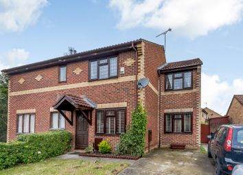 Thumbnail 3 bed semi-detached house for sale in Steele Avenue, Greenhithe