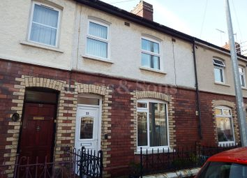 Thumbnail 3 bed terraced house to rent in Grove Road, Cross Keys, Gwent.