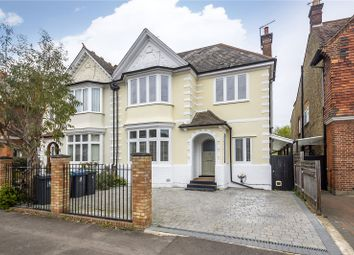 Thumbnail 4 bedroom semi-detached house for sale in Lingfield Avenue, Kingston Upon Thames