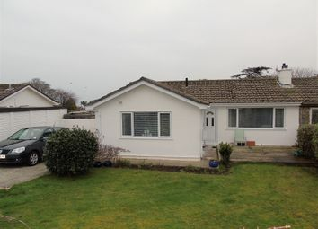 Thumbnail 3 bed semi-detached bungalow for sale in Menhyr Drive, Carbis Bay, St Ives, Cornwall.