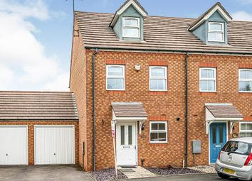 Thumbnail 3 bed town house for sale in Goodrich Mews, Dudley