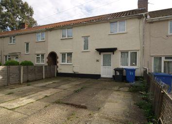 Thumbnail 4 bedroom terraced house to rent in Newbegin Road, Norwich
