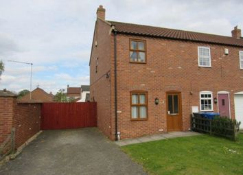 Thumbnail 2 bed end terrace house to rent in Heynings Close, Knaith Park, Gainsborough