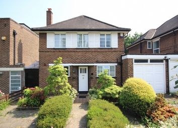 Thumbnail 3 bed detached house to rent in Heathcroft, London