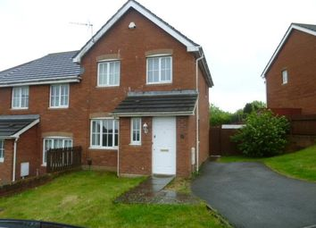 Thumbnail 3 bed semi-detached house to rent in Cwrt Pencoedtre, Barry