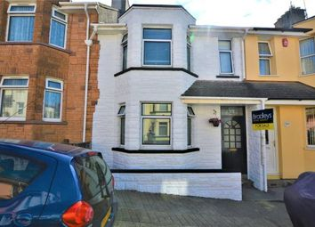 Thumbnail 3 bed terraced house for sale in Warleigh Avenue, Plymouth, Devon