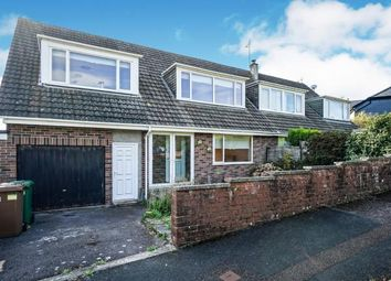 Thumbnail 3 bed semi-detached house for sale in Eggbuckland, Plymouth, Devon