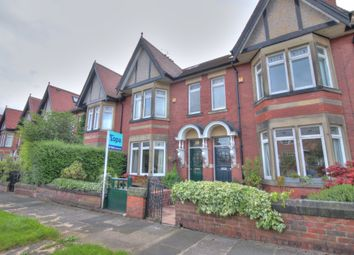 Thumbnail 5 bed terraced house for sale in Woodlands, Gosforth, Newcastle Upon Tyne