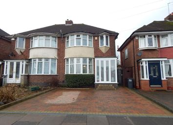 Thumbnail 3 bed semi-detached house for sale in Barnes Hill, Northfield, Birmingham