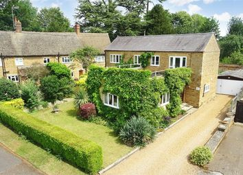 Thumbnail 4 bed detached house for sale in Manor Farm Road, Great Billing, Northampton
