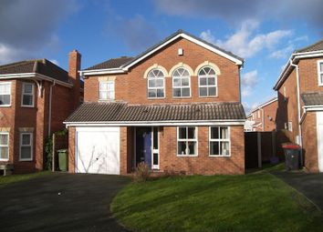 Thumbnail 4 bed detached house to rent in Monet Close, Telford