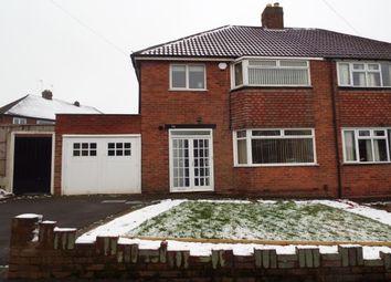 Thumbnail 3 bed property to rent in Brenton Road, Penn, Wolverhampton