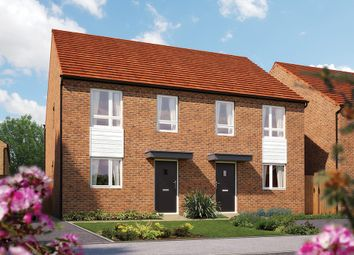 "Thumbnail 3 bed semi-detached house for sale in ""The Middleton"" at Limousin Avenue, Whitehouse, Milton Keynes"