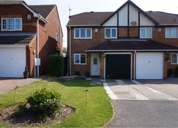 Thumbnail 3 bed semi-detached house for sale in Ulleswater Crescent, Ashby-De-La-Zouch