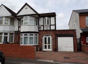 Thumbnail 5 bed semi-detached house for sale in Oakwood Road, Sparkhill, Birmingham, West Midlands