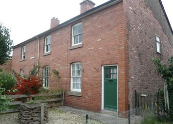 Thumbnail 2 bed end terrace house to rent in Millbrook Street, Hereford