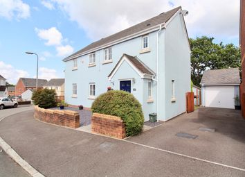 Thumbnail 3 bed semi-detached house for sale in Heol Iscoed, Fforestfach, Swansea