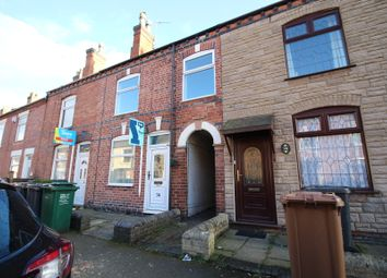 Thumbnail 3 bed terraced house for sale in Regent Street, Church Gresley, Swadlincote