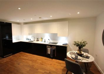 Thumbnail 3 bed flat for sale in Discovery Tower, Hallsville Quarter, London