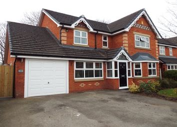 Thumbnail 4 bed property to rent in Farmleigh Gardens, Great Sankey, Warrington