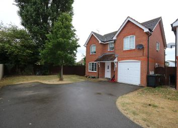 Thumbnail 4 bed detached house to rent in Yardley Close, Corby