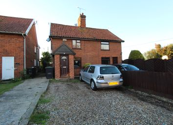 Thumbnail 2 bed semi-detached house for sale in The Green, Pettaugh, Ipswich