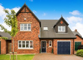 Thumbnail 4 bed detached house for sale in Gullane Drive, Dumfries