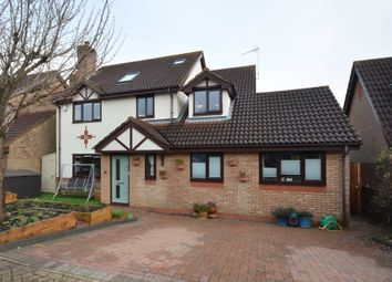 Thumbnail 4 bed detached house for sale in Fernborough Haven, Emerson Valley, Milton Keynes