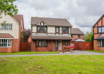 Thumbnail 4 bed detached house for sale in Vicarage Gardens, Burscough, Ormskirk