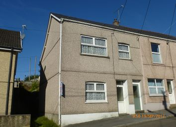 Thumbnail 4 bed end terrace house for sale in Station Road, Upper Brynamman, Ammanford, Carmarthenshire.