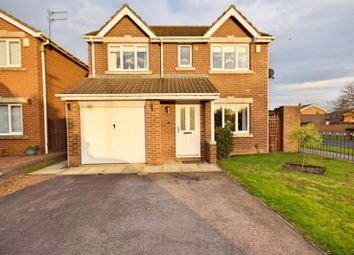 Thumbnail 4 bed detached house for sale in Linnet Road, Hartlepool
