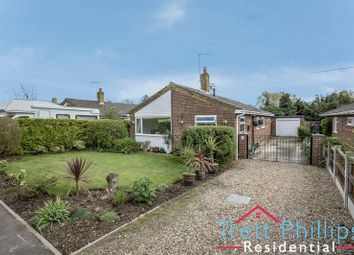 Thumbnail 3 bed detached bungalow for sale in Meadow Way, Rollesby, Great Yarmouth