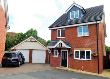 Thumbnail 4 bed detached house for sale in Baswich Crest, Baswich, Stafford
