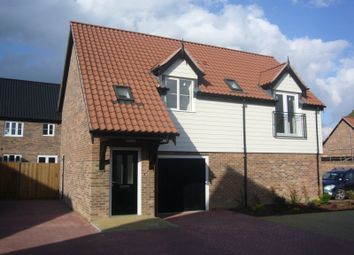 Thumbnail 1 bed detached house to rent in Minns Crescent, Poringland, Norwich