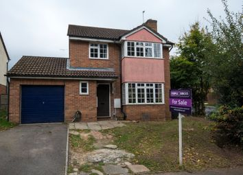 Thumbnail 4 bed detached house for sale in Lamden Way, Burghfield Common