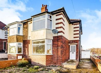 Thumbnail 3 bed semi-detached house for sale in Benomley Crescent, Almondbury, Huddersfield