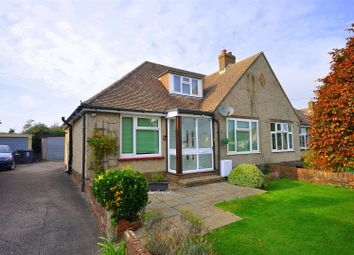 Thumbnail 2 bed semi-detached bungalow for sale in St. Annes Road, Lower Willingdon, Eastbourne