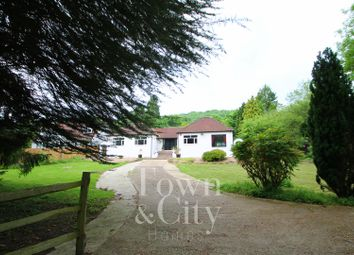 Thumbnail 4 bed detached bungalow for sale in Knatts Valley Road, Knatts Valley, Sevenoaks