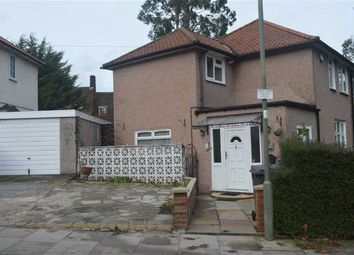 Thumbnail 2 bed semi-detached house for sale in Silkstream Road, Burnt Oak, Middlesex